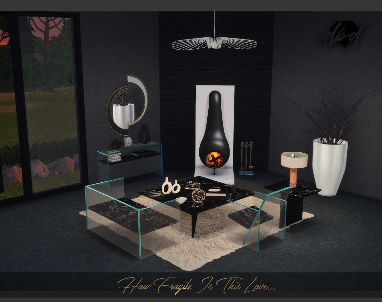 How Fragile Is This Love Set New Meshes Sims 4 Designs Sims Sims 4 Coffee Table Sims 4 Cc Furniture [ 1011 x 1276 Pixel ]
