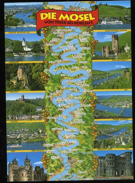 Mosel River Germany Map.Mosel River Valley Germany Adventure Time In 2019 Germany