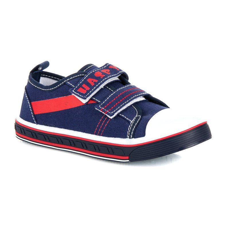 Hasby Granatowe Trampki Do Szkoly Niebieskie Vans Shoes Sneakers