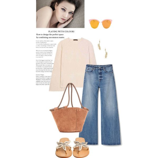 Untitled #1851 by frenchfriesblackmg on Polyvore featuring The Row, ASPIGA, Eddie Borgo and Avon