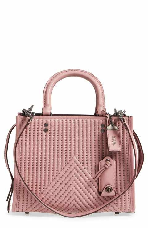 f0fae64650 COACH 1941 Quilted Rivet Rogue Leather Satchel | Handbags in 2019 ...