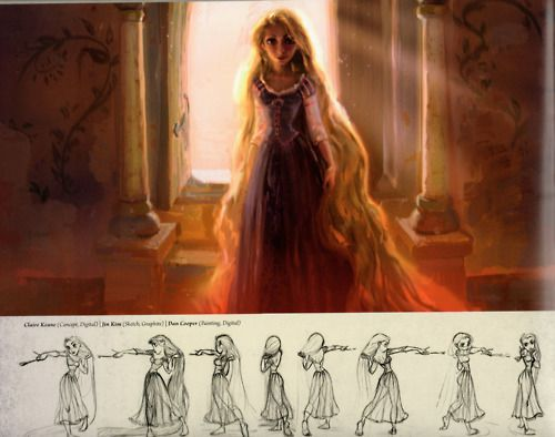 Tangled Art - Rapunzel - Tangled