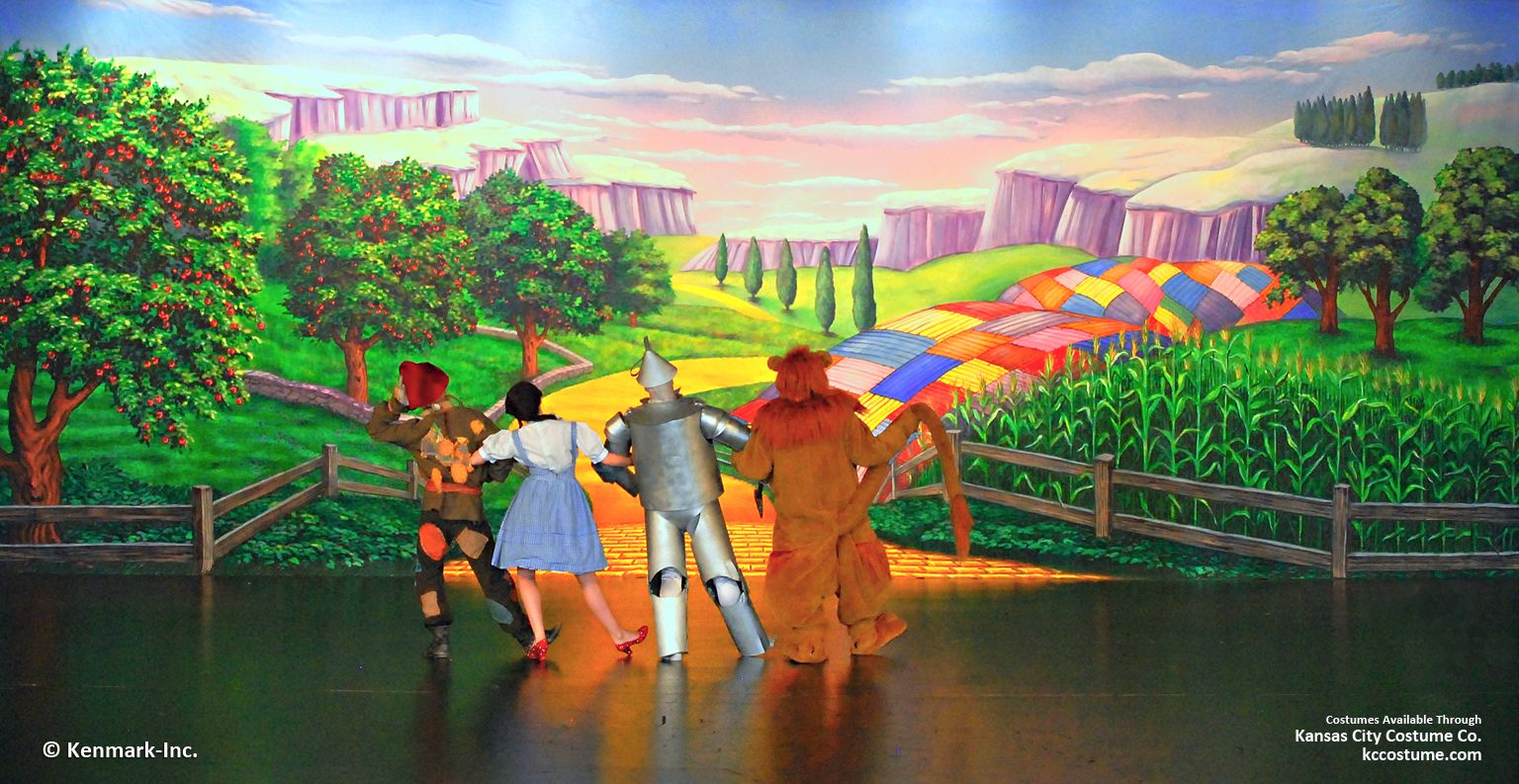 Wizard Of Oz Theatrical Backdrop Rentals By Kenmark Scenic