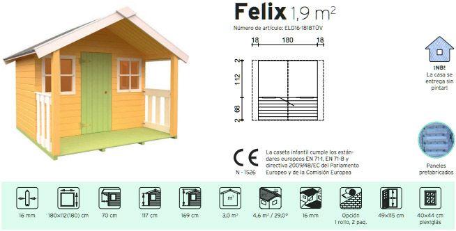 planos de casas infantiles en madera
