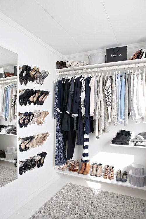 Die besten 25+ Begehbarer kleiderschrank offen oder geschlossen - garderobe selber bauen schner wohnen