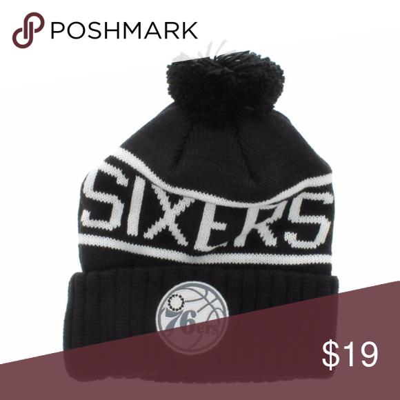 1ba167d0f56f65 Vintage Philadelphia 76ers 3M Patch Beanie Philadelphia 76ers 3M Patch  Beanie Mitchell & Ness Accessories Hats