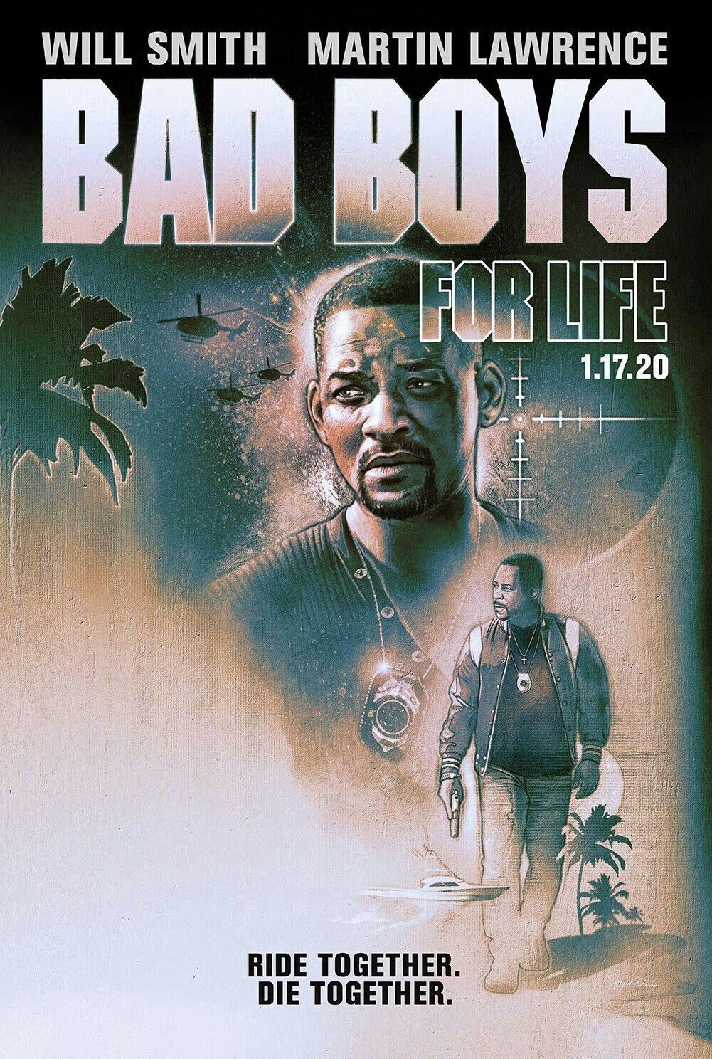 Bad Boys For Life Bad Boys Vin Diesel The Rock Movie Art