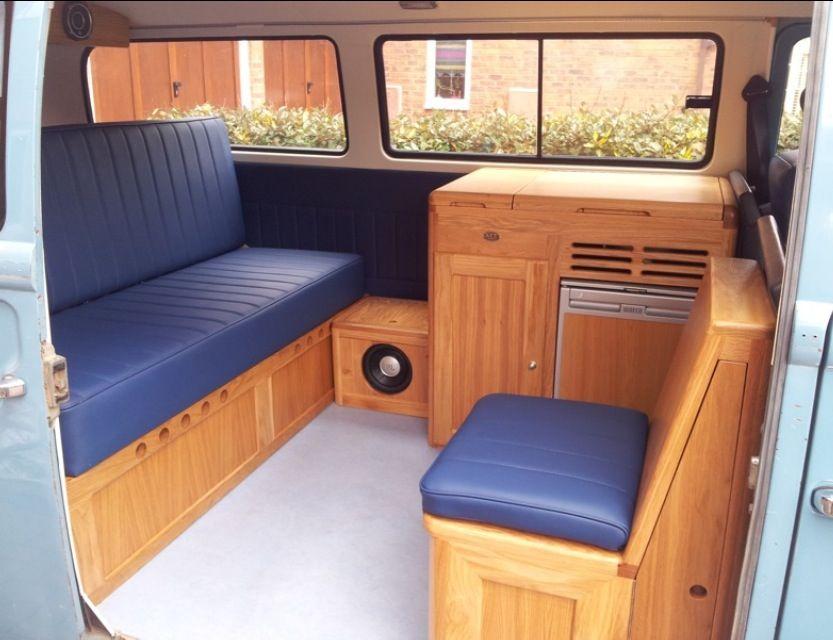 Full width bed, walk through interior | Camping | Pinterest ...
