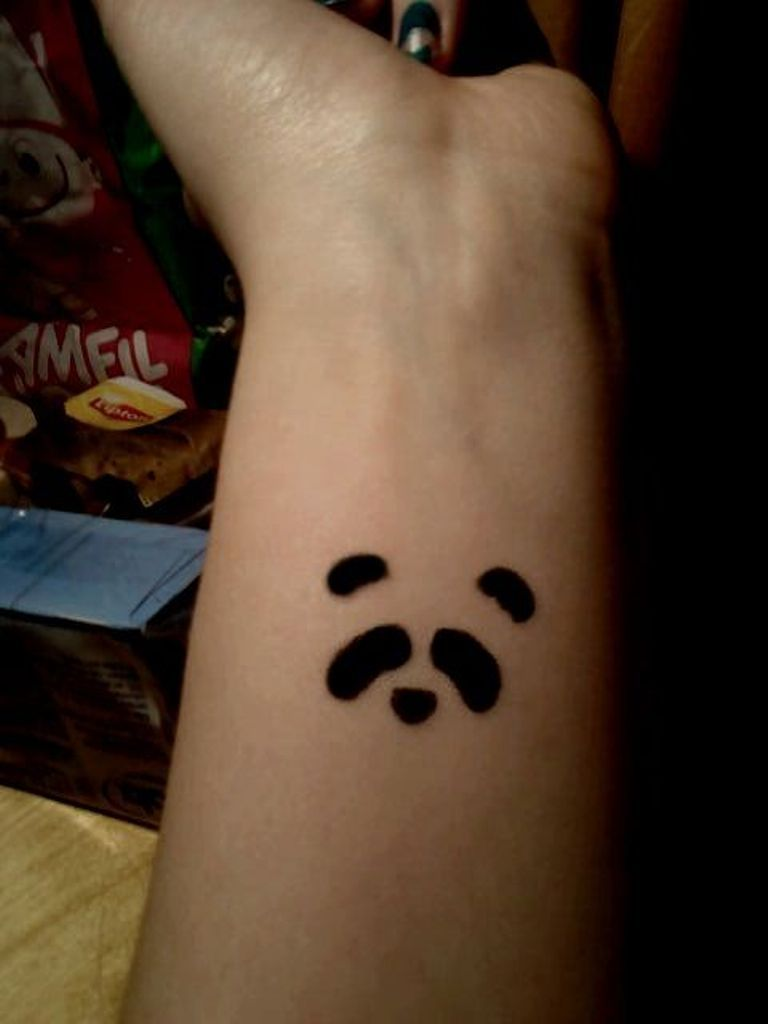 24 Small Panda Bear Tattoo Ideas For Girls recommend