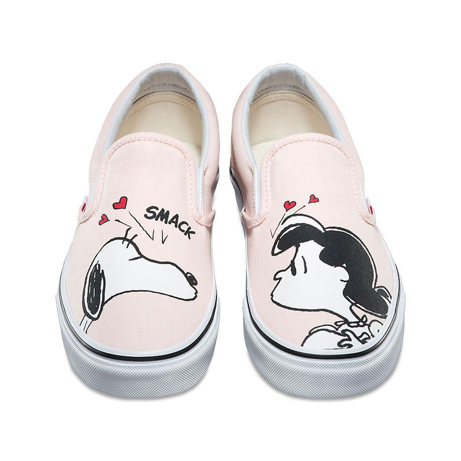 chaussure vans x peanuts classic slip-on
