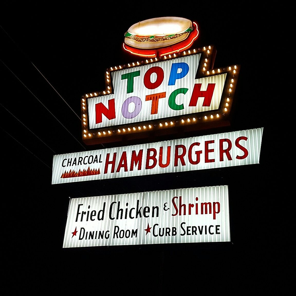 Austin texas hot dog stand burger joints neon signs
