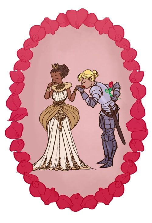 Just a princess and her knight