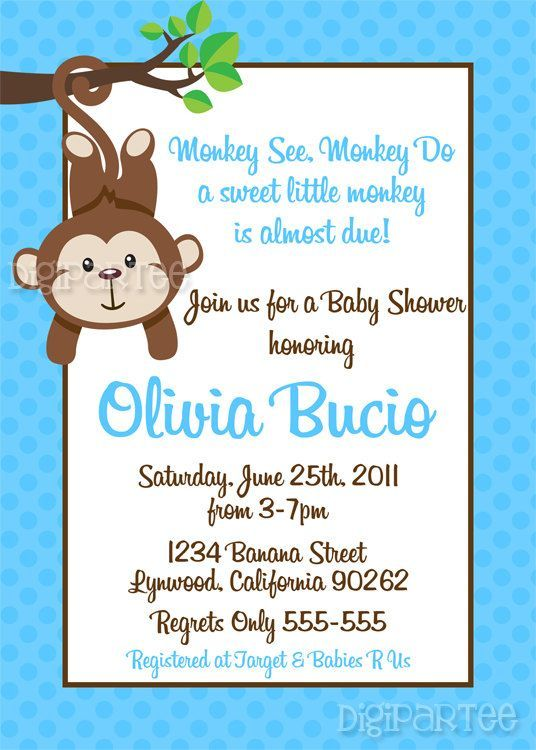 Boy Baby Shower Invitations Wording Ideas Google Search Baby