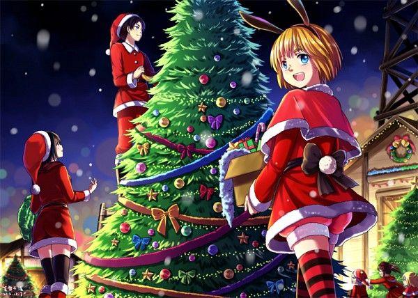 Eren, Mikasa, Armin Noël