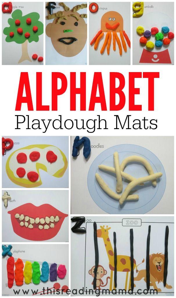 Phonics Playdough Mats