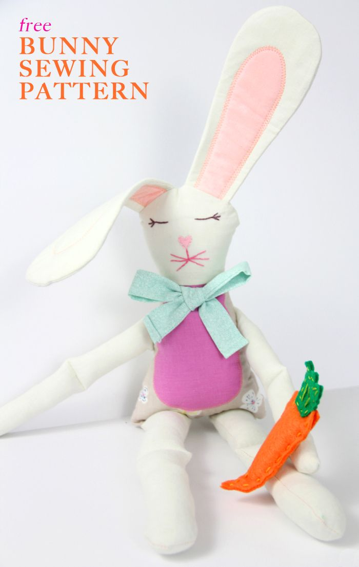 Easter Bunny Sewing Pattern