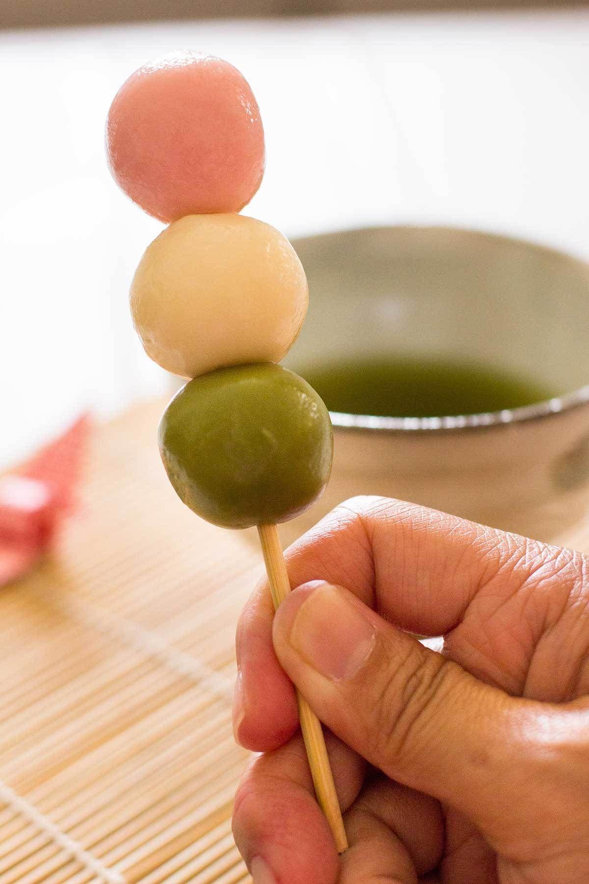 Sanshoku Dango Food Cafe Food Different Recipes