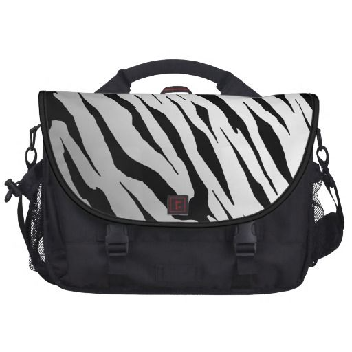 White Tiger Stripe #Laptop #Bag