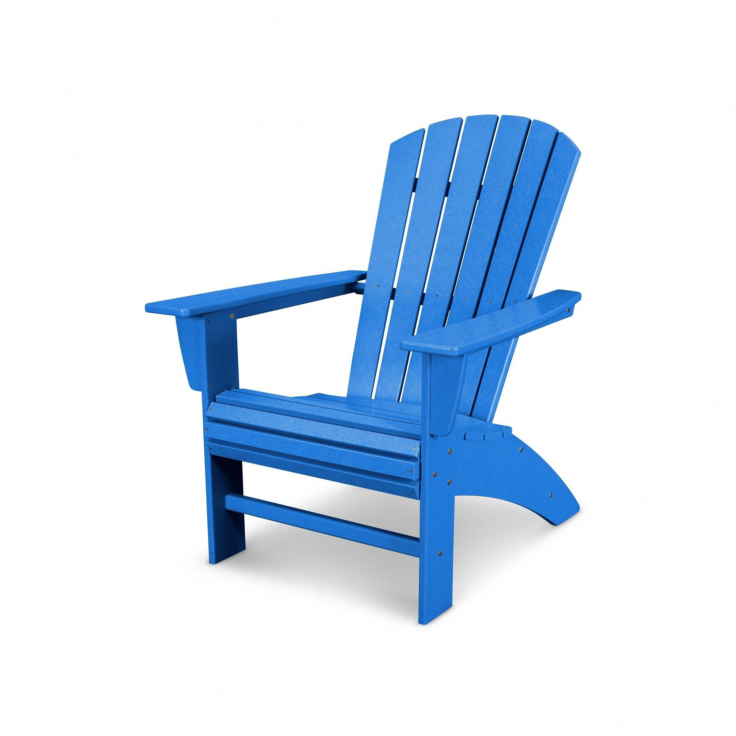 Nautical Curveback Adirondack Chair (Assembly Required
