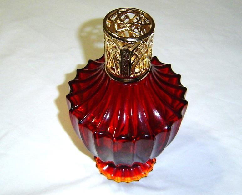 Lampe Berger Atlesse Rouge Signature Lamp By Regis Dho With Designer Cap Tammiestreasures