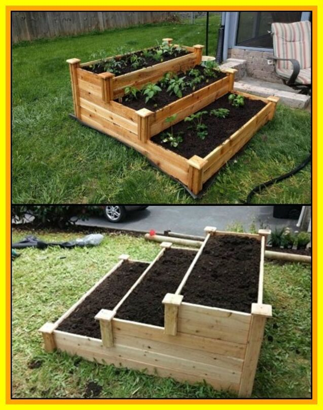 80 reference of vegetable garden plans raised beds in 2020