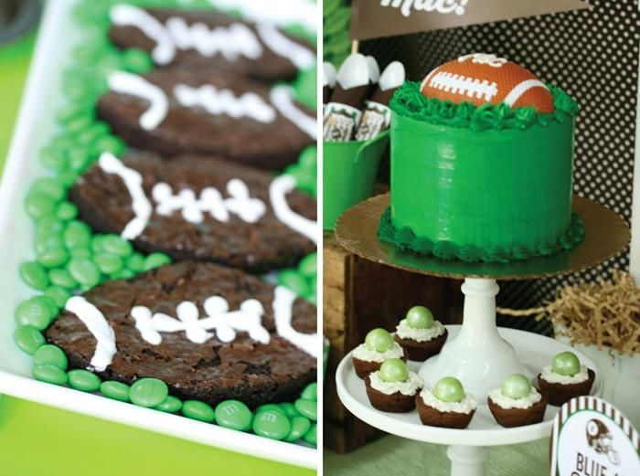 Football Party Planning Ideas Supplies Idea Cake Cupcakes ...