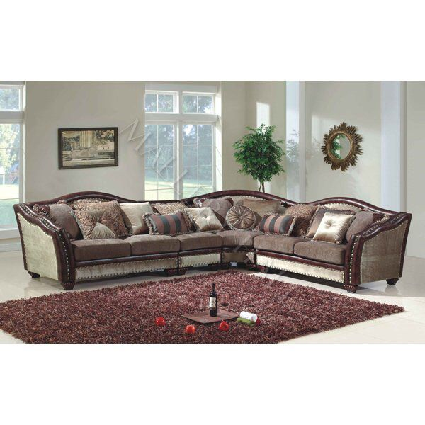 Superieur Www.malloryhall.com Leather. Tapestry. Sofa. Sectional