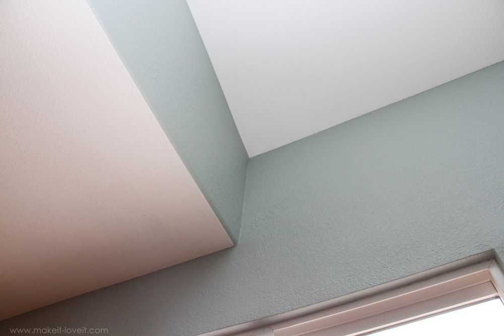 How to Paint PERFECTLY Straight Lines On Textured Walls Showers