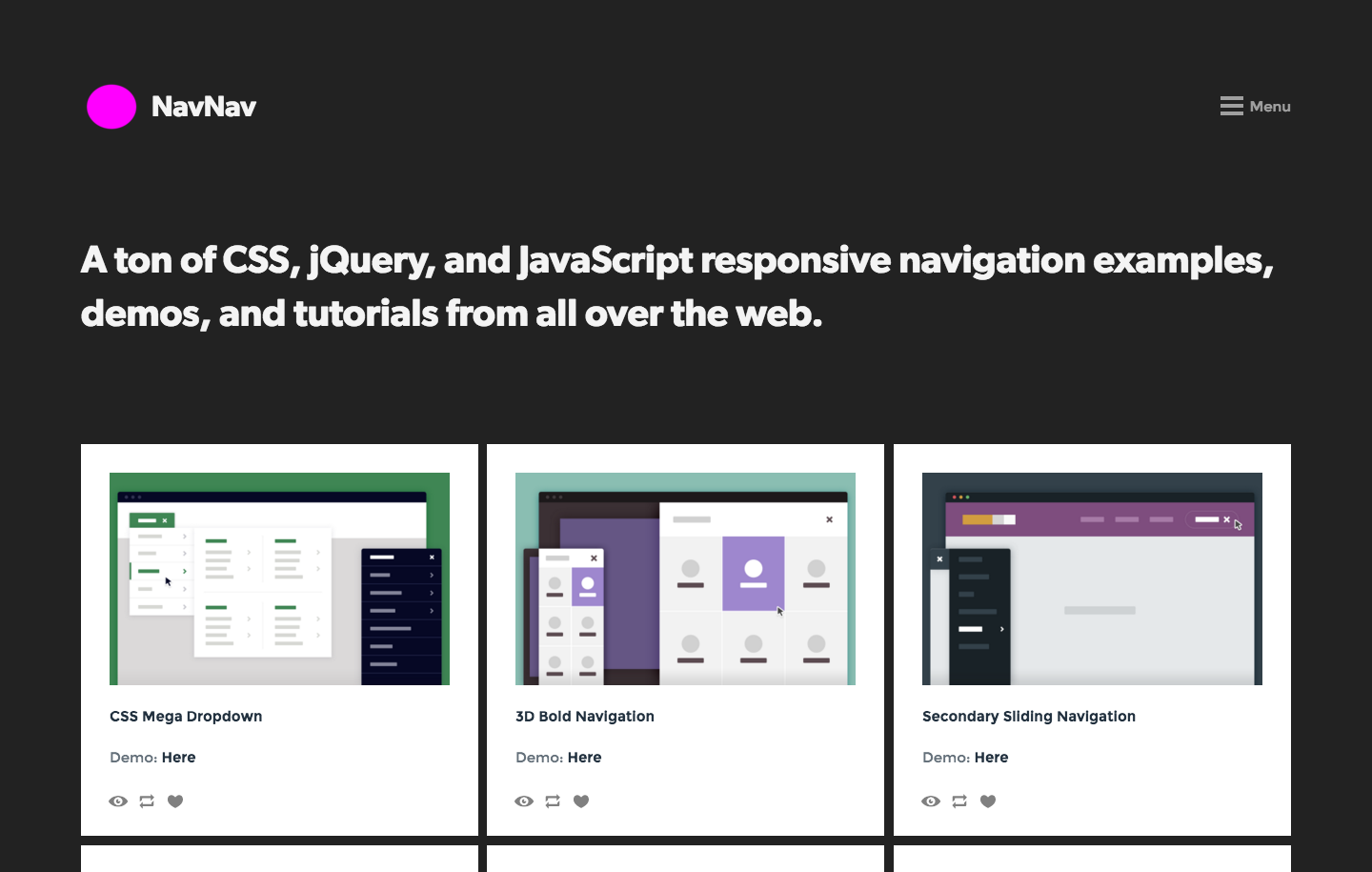Navnav 90 responsive navigation bar menu tutorials examples and navnav 90 responsive navigation bar menu tutorials examples and demos css malvernweather