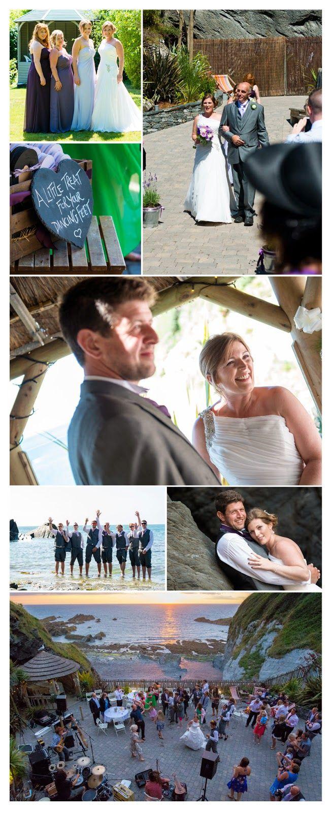Michael Wells Photography: Kim & Mark's Tunnels Beaches Wedding