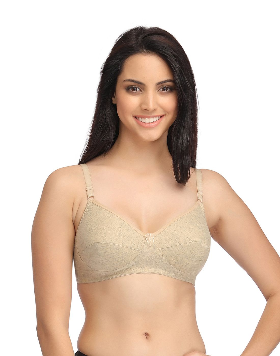 d996d243d34d7 Yükle (1100x1400)Buy Cotton Non-Padded Non-Wired Full Cup Bra - Beige  Online India