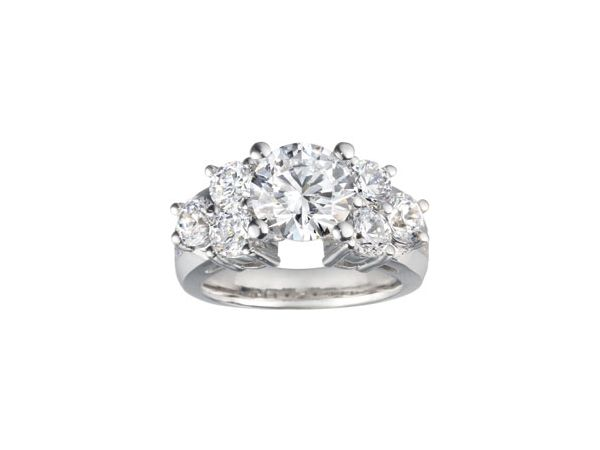 SAMPLE ER 10RDS=1.48CTW STATEMENT COLLECTION | Engagement Rings from Georgetown Jewelers | Wood Dale, IL
