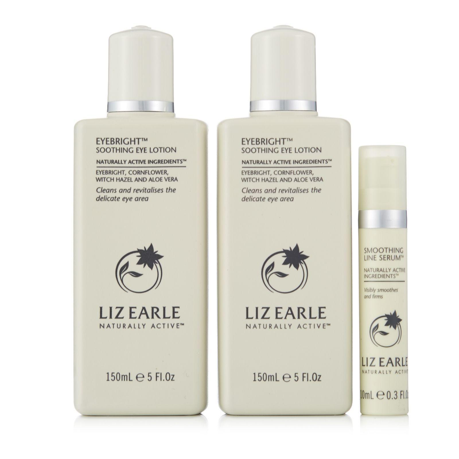 214066 Liz Earle Eyebright Duo & Smoothing Line Serum