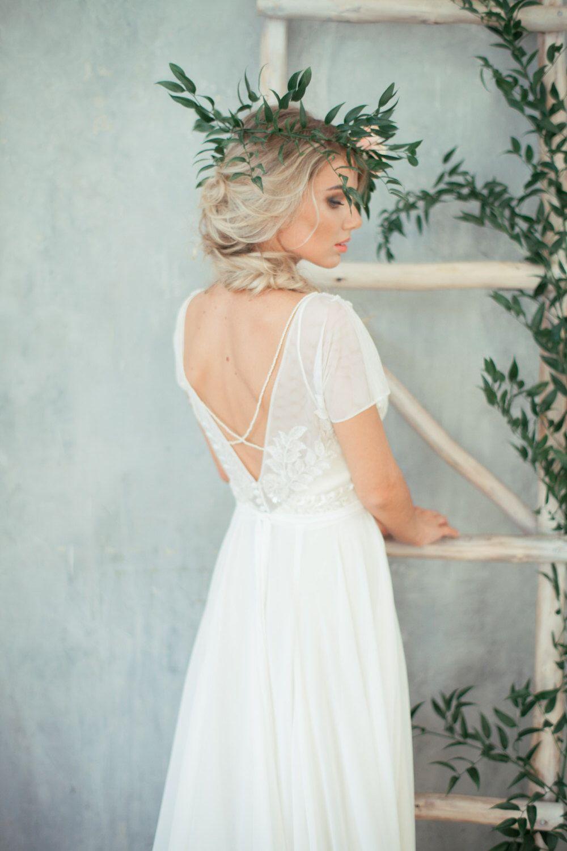 Boho wedding dress uteonau bohemian wedding dress backless