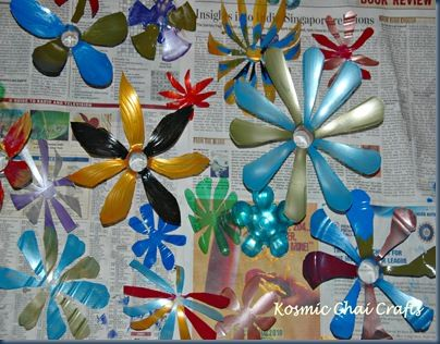 plastic bottle recycling   Re-purposed Crafts Ideas-Plastic