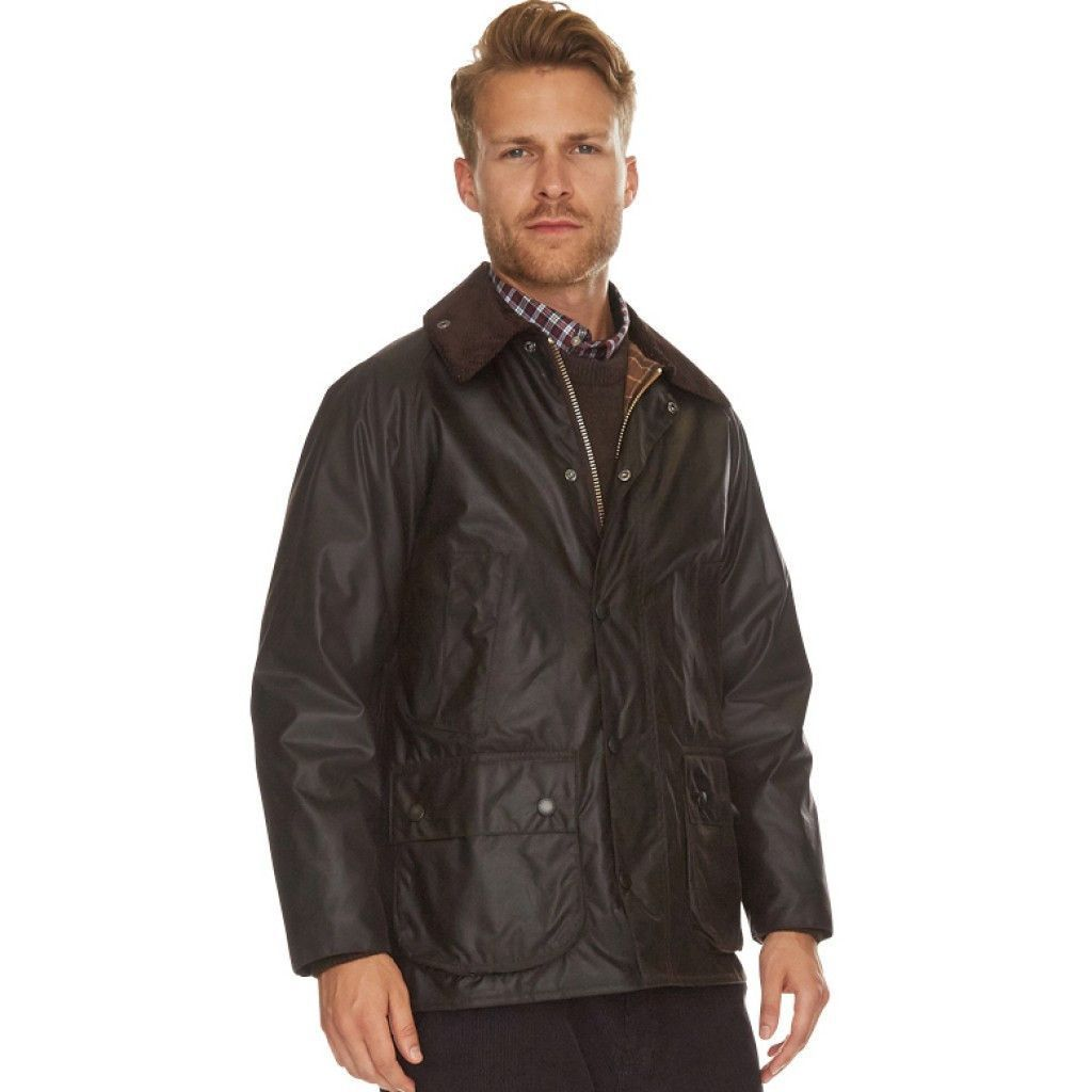 sneakers for cheap best place good Classic Bedale Waxed Jacket in Rustic Brown by Barbour ...