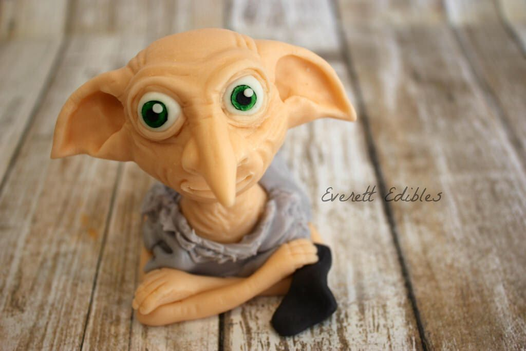 Harry Potter Dobby Cake Toppers
