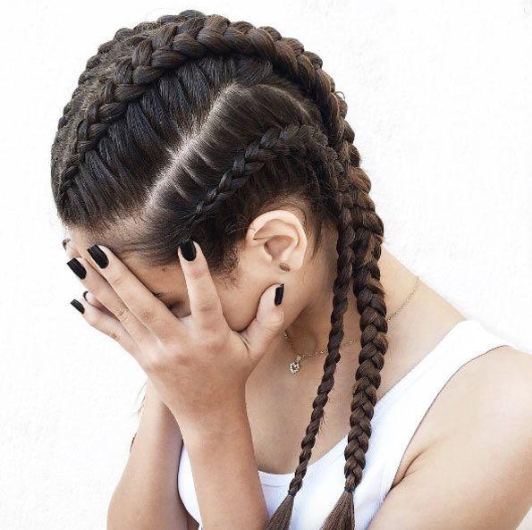 Simple Boxer Braids By Iris Araujo Boxer Braids Hairstyles Box Braids Styling Cornrow Hairstyles