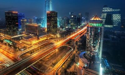 Beijing at Night, China