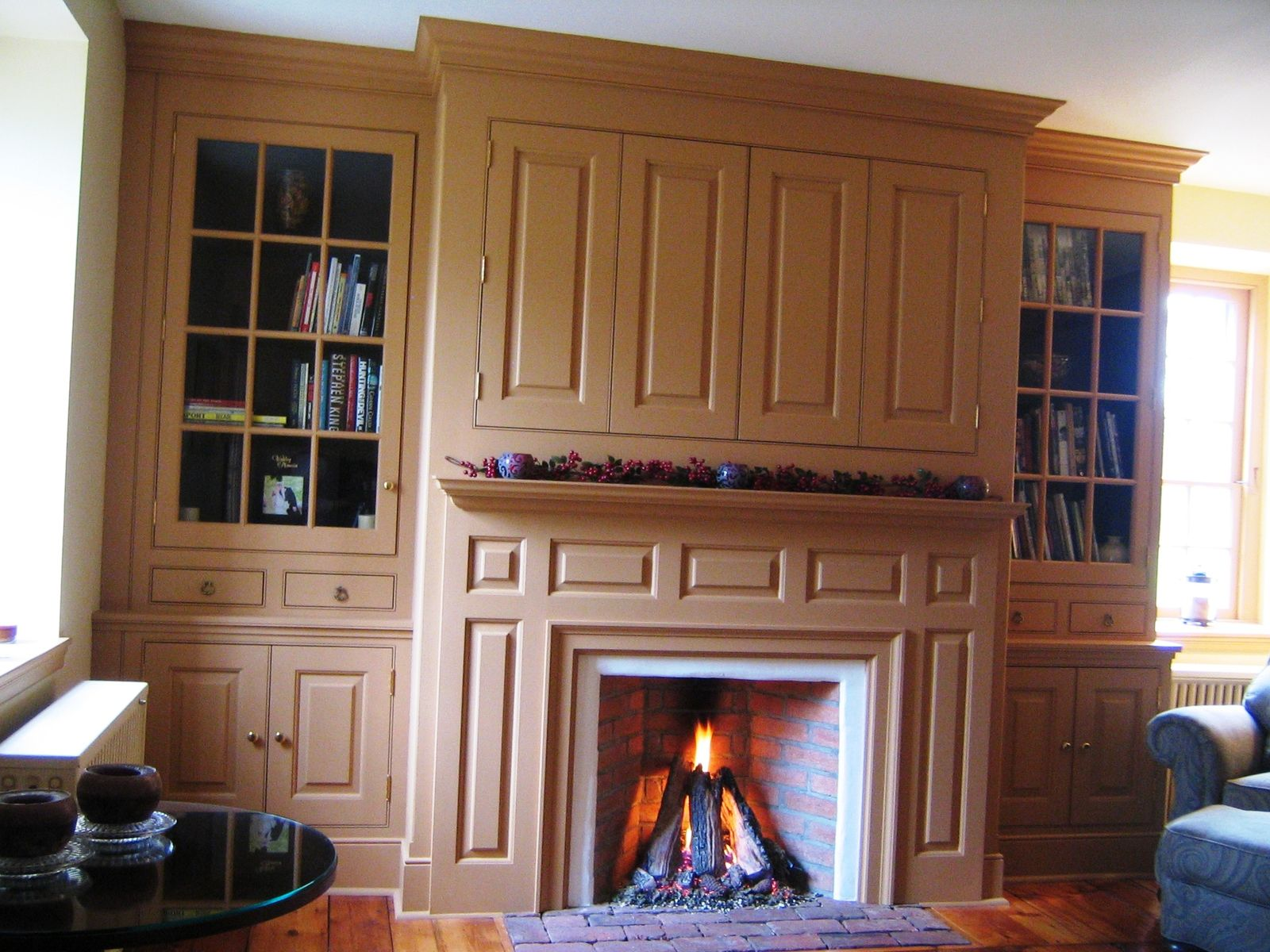 colonial fireplace surrounds custom made farmhouse mantel wall