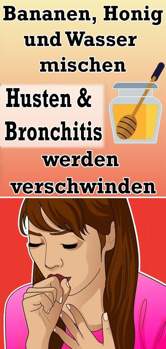 Bananen, Honig und Wasser mischen: Husten und Bronchitis werden verschwinden  - Gesund und Fitness -...