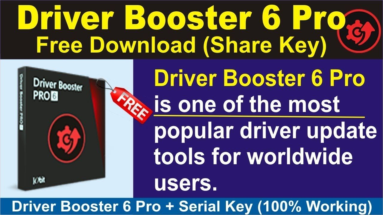 driver booster 6 crack 2019