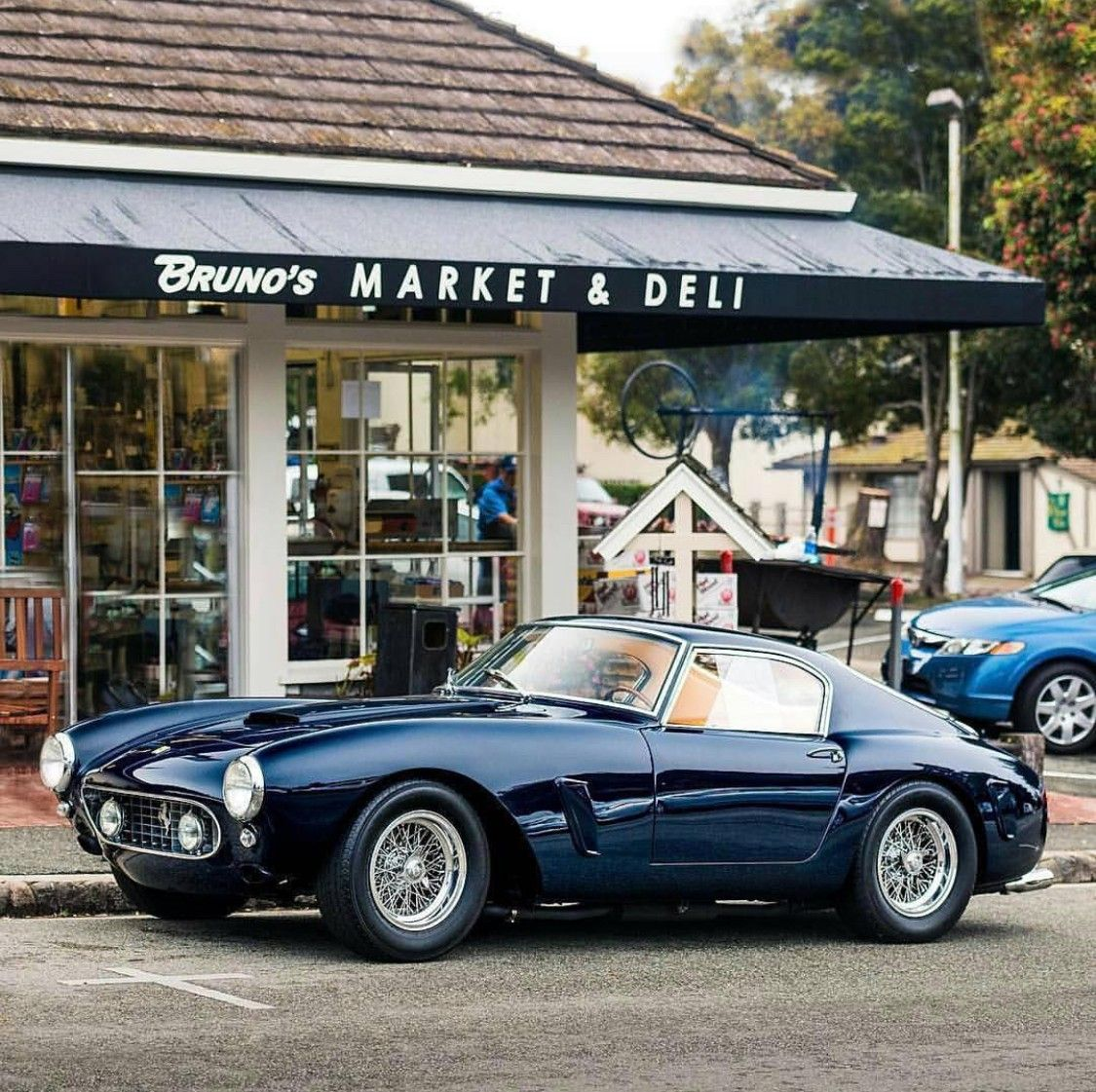 Pin By Mockup Design On Instagram Board Classic Cars Ferrari