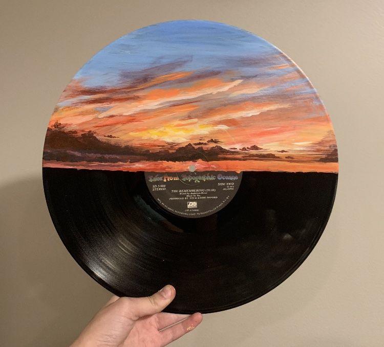 Cool Art Image By Casey Vinyl Art Paint Vinyl Record Art Record Art