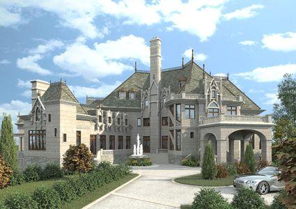 Castle House Plans | Home Plans U0026 Styles | Archival Designs Part 7