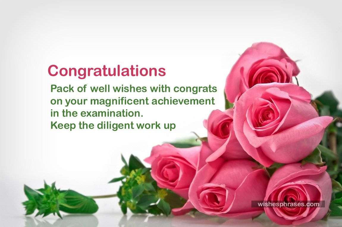 Someone Of Your Loved One Got A Good Result Its Your Duty To Congratulate By Sending Them Congratulation Messages On E Success Wishes Exam Results Exam Success