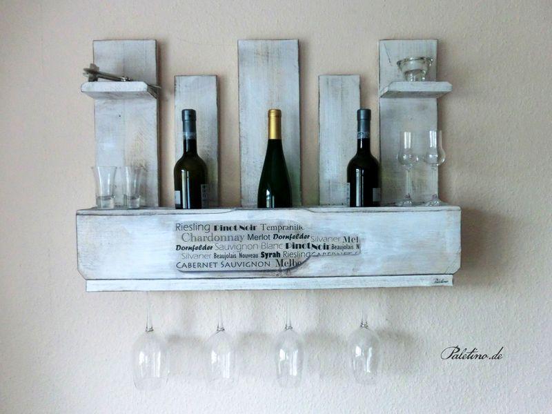 Weinregal aus europalette von paletino auf - Weinregal palette ...