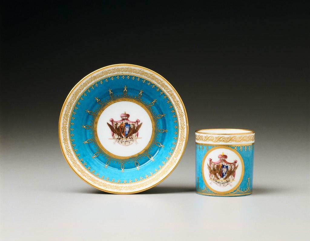 HILLWOOD SEVRES PORCELAIN COLLECTION | Sèvres Porcelain | Saucer and ...