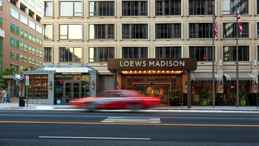Book Loews Madison Hotel Washington Dc On Tripadvisor See 1 858 Traveler Reviews 408