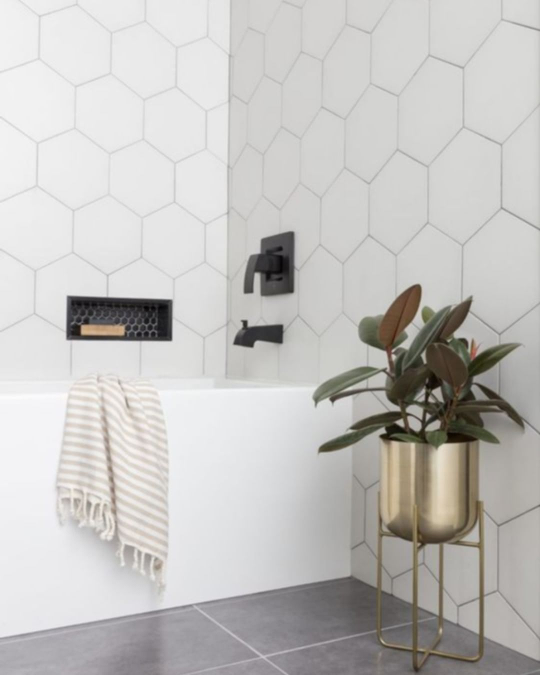Geometric Shapes Are Still Trending In Home Decor And Tiles Are